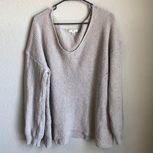 ⭐️BP Sz XXL Slouchy V-Neck Sweater
